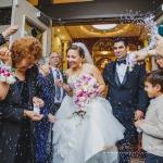 Greek Wedding Ceremony toss