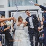 Wedding Ceremony toss