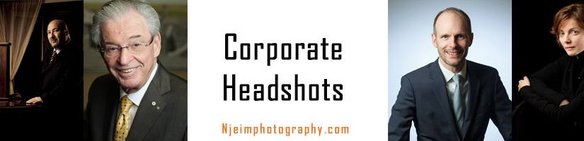 Corporate Head Shots Photographer in Montreal
