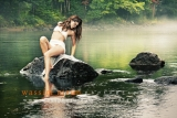 Model mermaid in water Rawdon