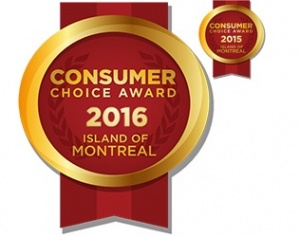 Consumer Choice Award Montreal