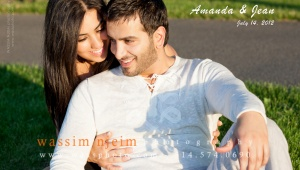 Lebanese couple e-session in Montreal