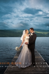 Wedding picture in Mont-Tremblant
