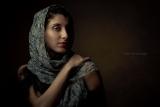 Model Studio Photo Veil dramatic