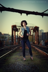 Photo shoot railroad Montreal
