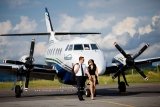 Engagement session airport Montreal