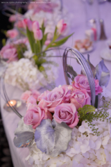 Wedding reception details and flowers - Njeim Photography